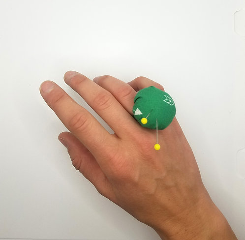 Pin Cushion Ring Project & Instructions
