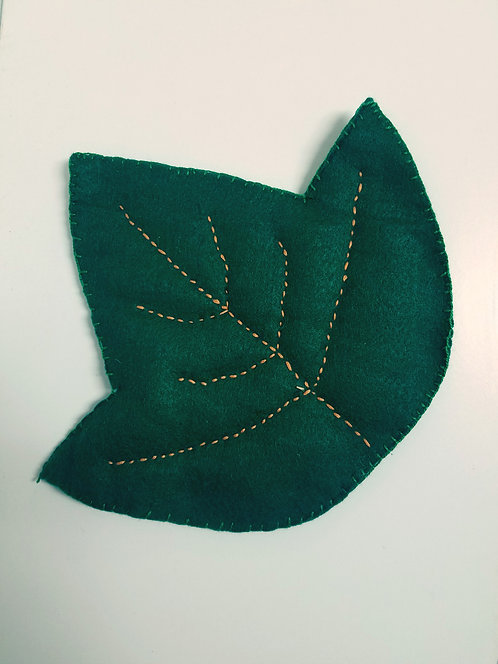 Leaf Pot Holder Project & Instructions