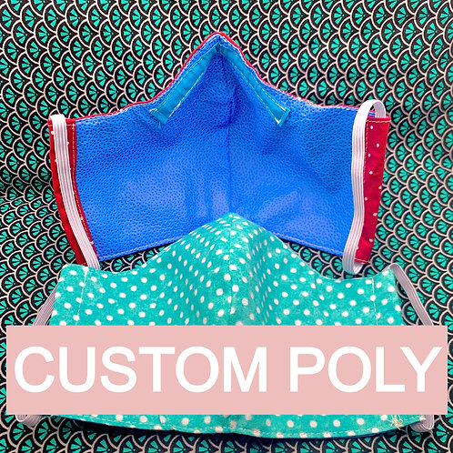 Custom Polypropylene Mask Order *20% donation*