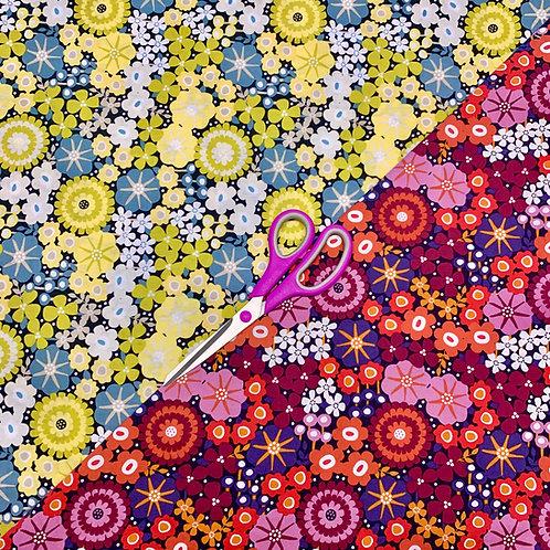 Splash Fabrics Floral Cotton Masks *20% donation*