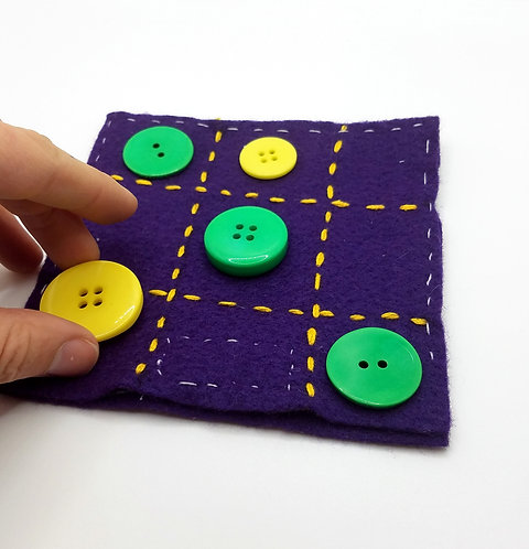 Button Tic Tac Toe Project & Instructions