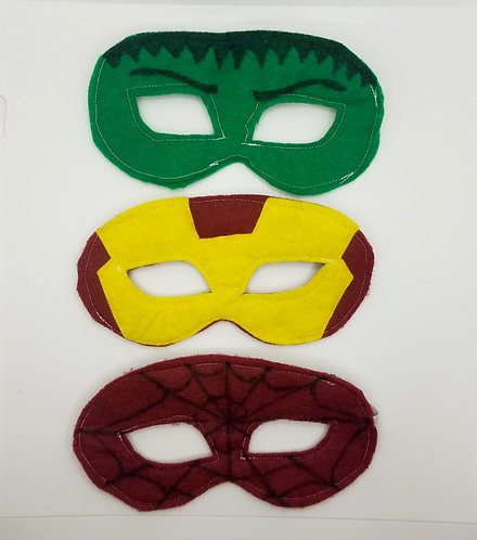 Super Hero Masks Project & Instructions