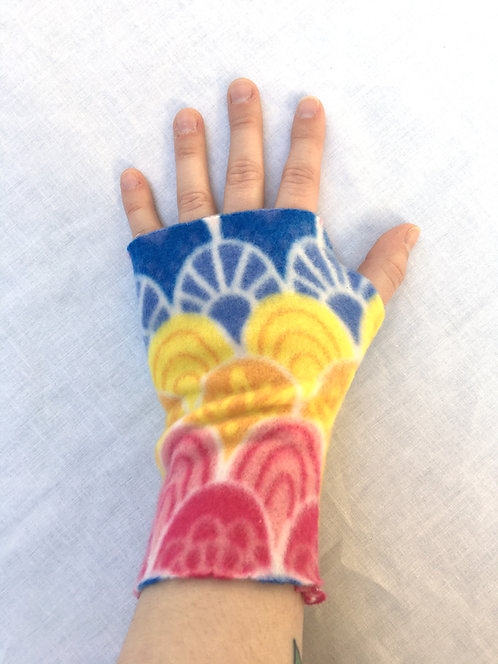 Fingerless Gloves Project & Instructions