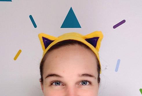 Kitty Ear Headband Project & Instructions