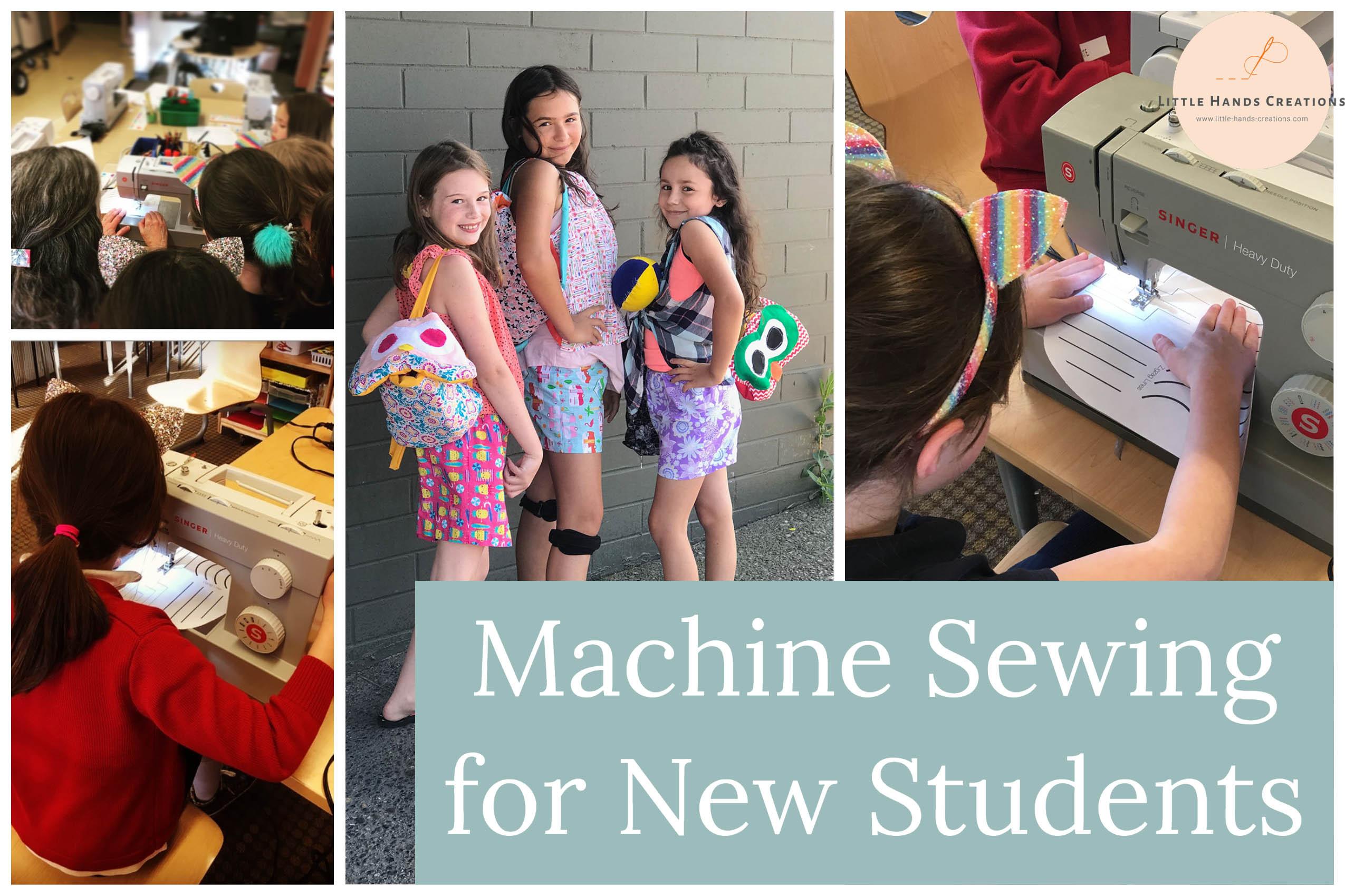 ONLINE Monday New Machine Sewing