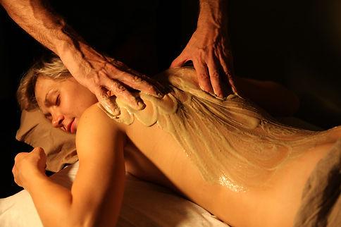 глиняный массаж, массаж глиной. глиняноеобертывание