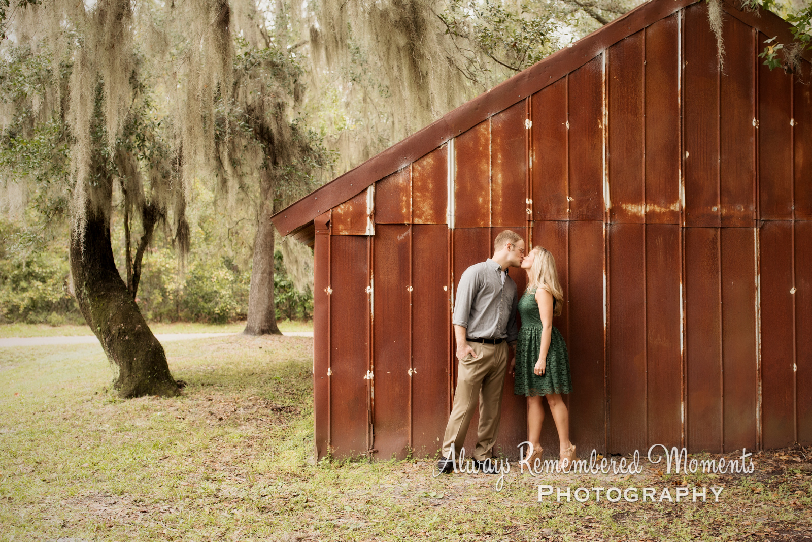 Always Remembered Moments Photography, Sierra & Brandon Engagement Session, Alpine Grove Park, St Jo