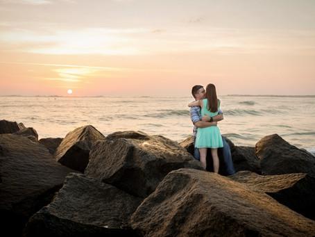 Beautiful Sunrise Engagement Session!