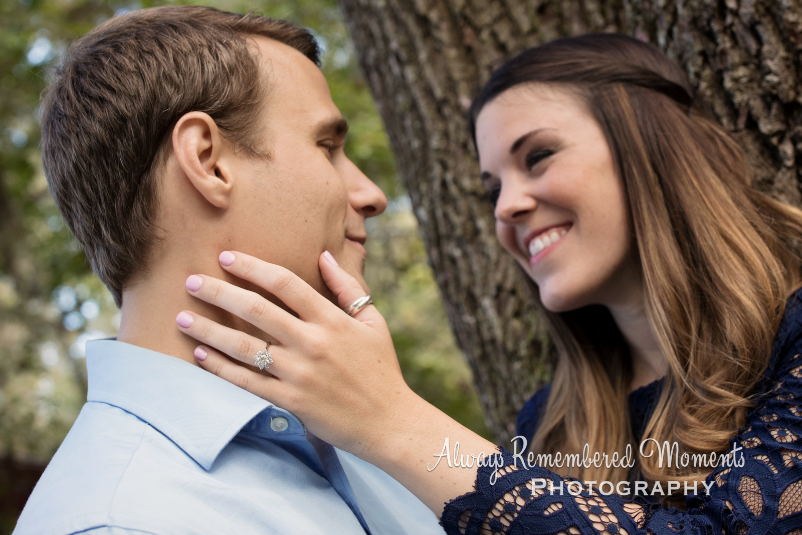 Always Remembered Moments Photography, Shannon & Adam, Engagement Session, Alpine Grove Park, St Joh