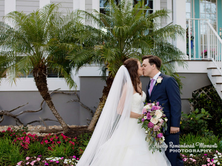 Hannah & Chance's Beautiful Waterfront Wedding