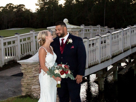 St Johns Golf and Country Club Wedding. Congratulations Jessi & Max