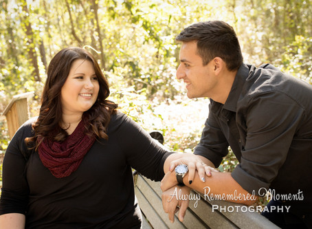 Sabrina & Cory Engagement at Alpine Grove Park