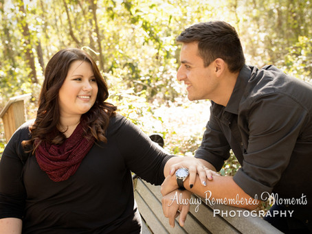 Sabrina & Cory Engagement at Alpine Grove Park