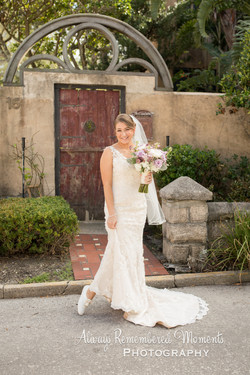 The Lightner Museum Courtyard Wedding,  St Augustine Wedding, Always Remembered Moments Photography,