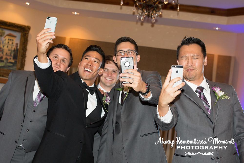Fun Wedding Selfie