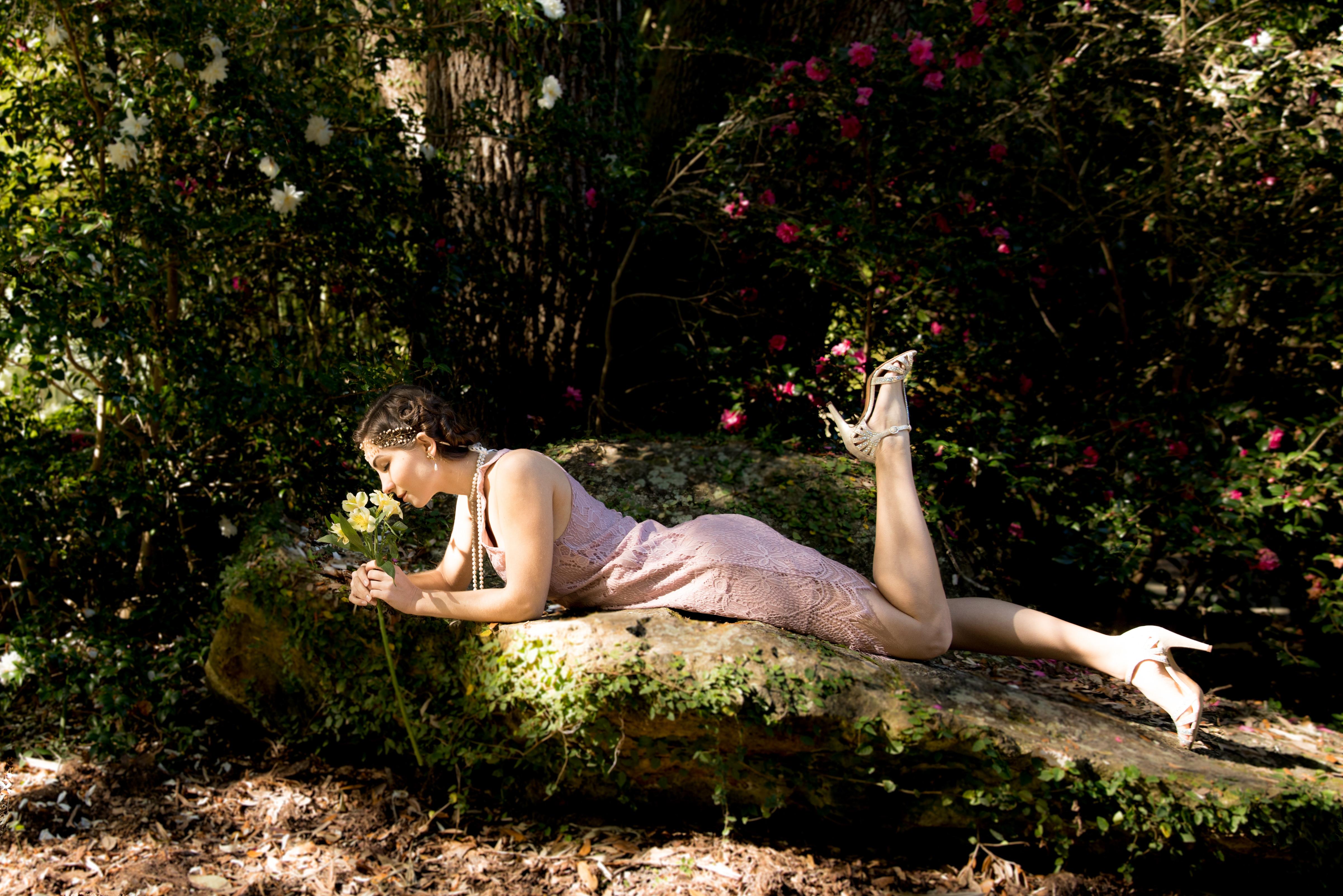 Always Remembered Moments Photography-Engagement-Kanapaha Botanical Gardens-1020's theme engagement