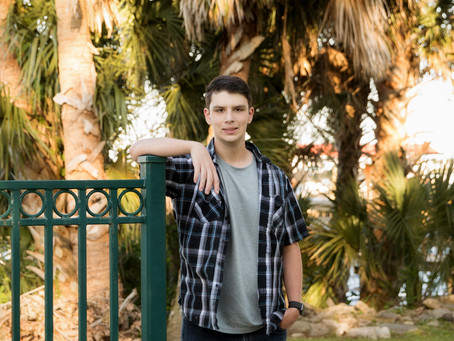 Connor's Senior Session - St Augustine - on the St Johns River -2021