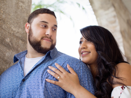 Historic St Augustine Engagement Session, Lightner Museum, Gazebo, Waterfront and Fort