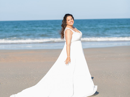 A Beautiful Wedding on St Augustine Beach