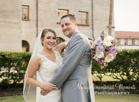 The Lightner Museum Courtyard Wedding