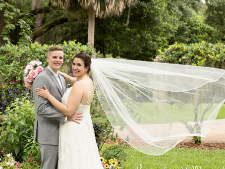 Keeley & Chris's Jacksonville Backyard Garden Wedding