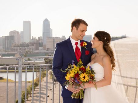EverBank Fields Wedding