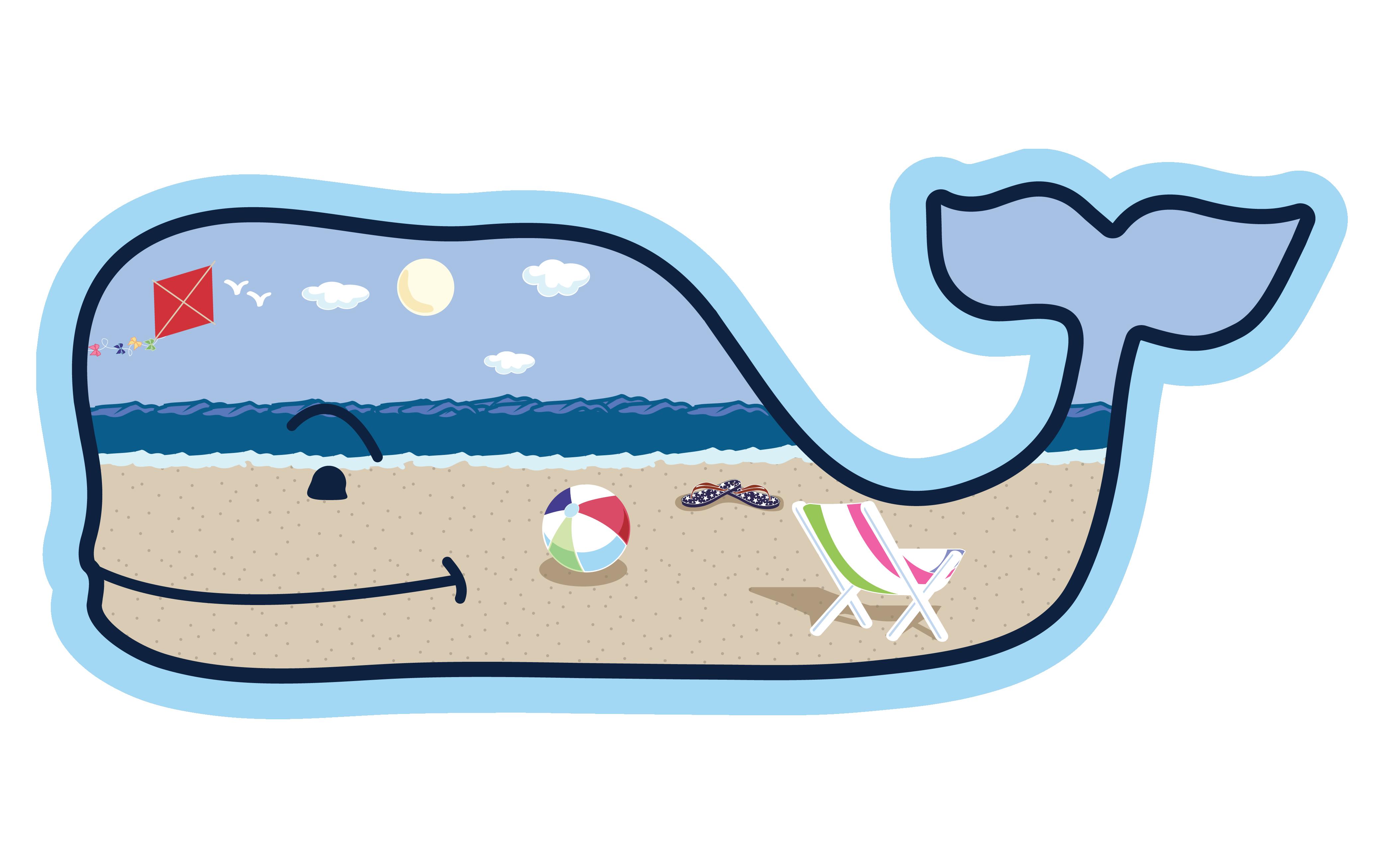 Beach whale