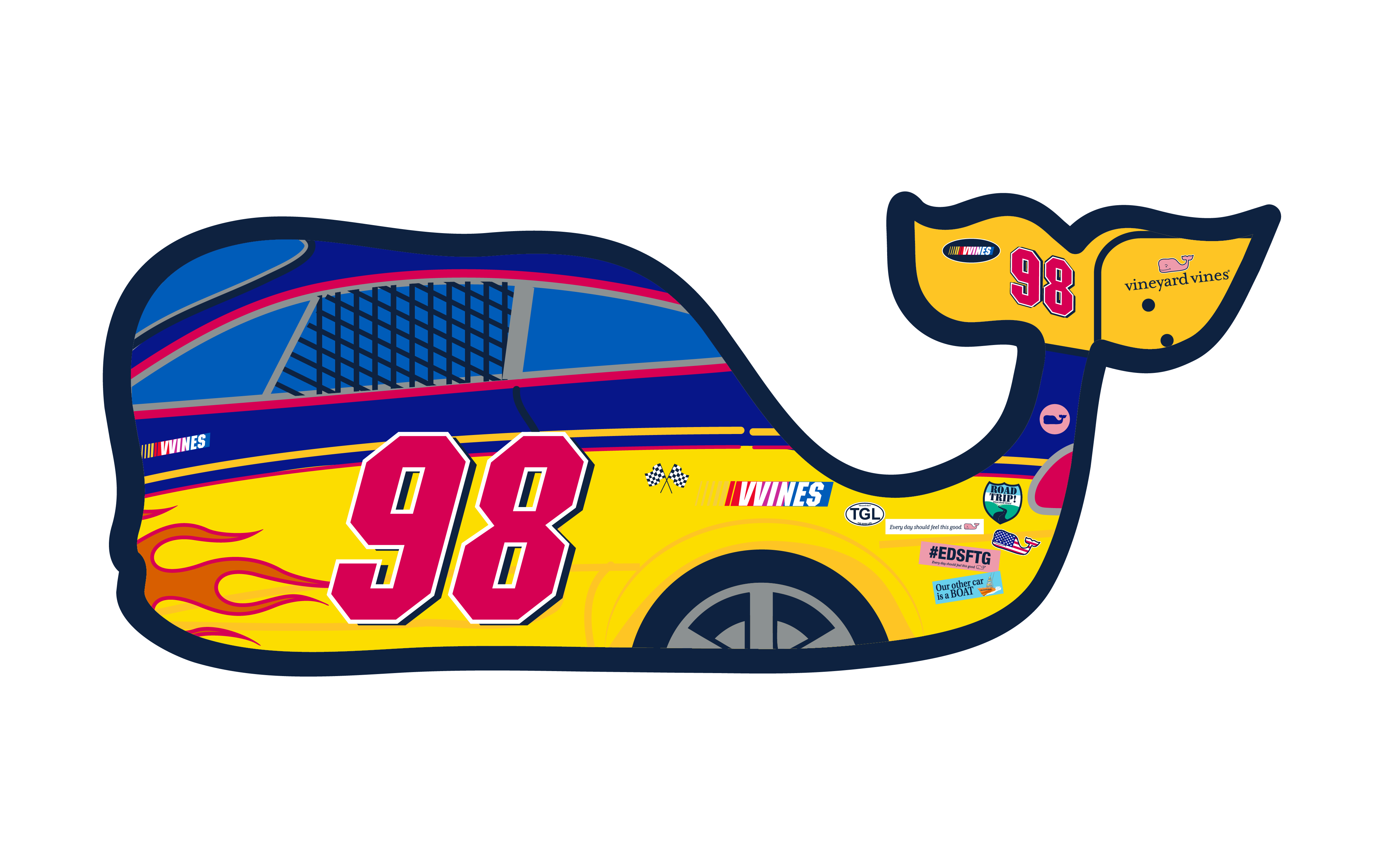Nascar Whale two