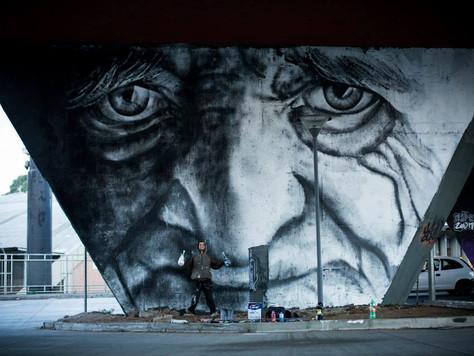 Uma arte estampada pela cidade