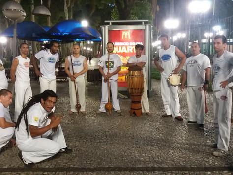 O gingado histórico da capoeira