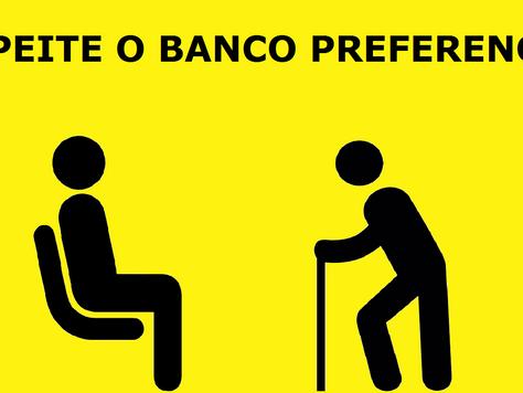 Apesar da lei, bancos preferenciais em ônibus não são respeitados