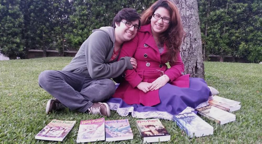 Foto: Bruna Cabreira/ Neto Pires e Letícia Lima contam um pouco de suas vidas como potterheads