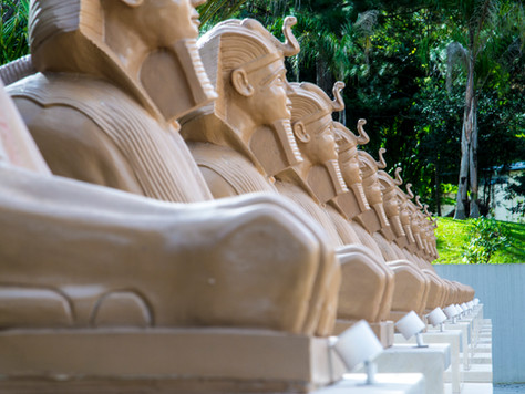 Múmias são atrações no Museu Egípcio Rosacruz