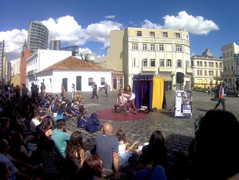 Teatro independente tem espaço no Festival de Curitiba