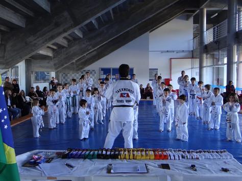 Taekwondo: Mudar o mundo formando um faixa preta por vez