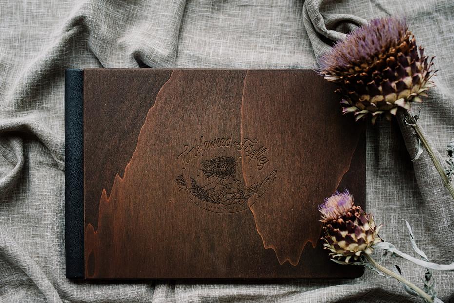 Tumbleweed & Fireflies - houten album-1_