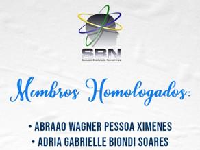 Membros Homologados SBN 2021
