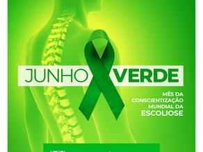 Junho Verde – Mês de Conscientização Mundial da Escoliose