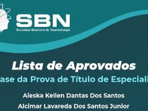 Confira a relação de aprovados na 1º Fase da Prova de Título de Especialista SBN 2021