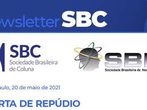 Carta de Repúdio SBC e SBN - Unimed Campinas
