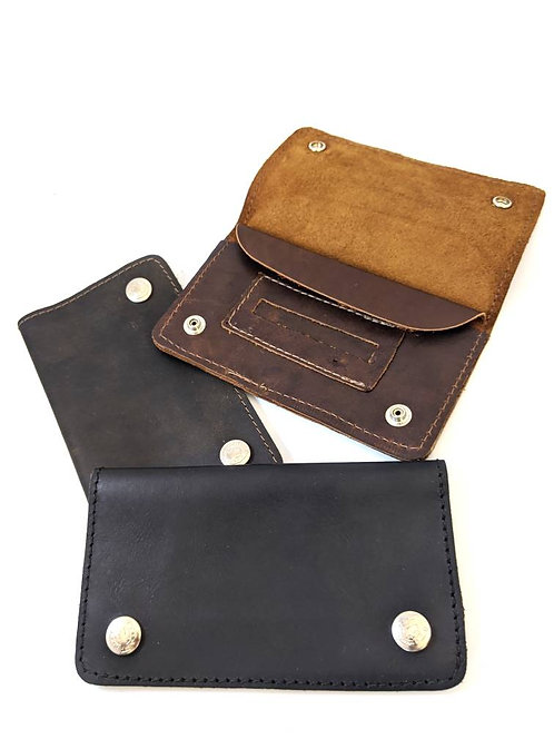 HUNTER LEATHER TOBACCO POUCH