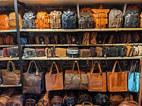 cactus leather shop at Camden Town
