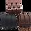 Thumbnail: Triple Buscke closure Leather Bracelet