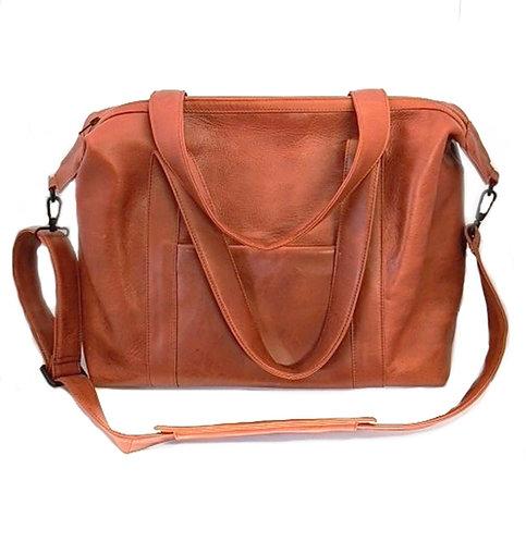 Parisian Weekender leather voyager bag