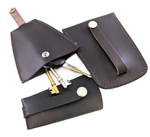 Leather bell key holder 3 sizes