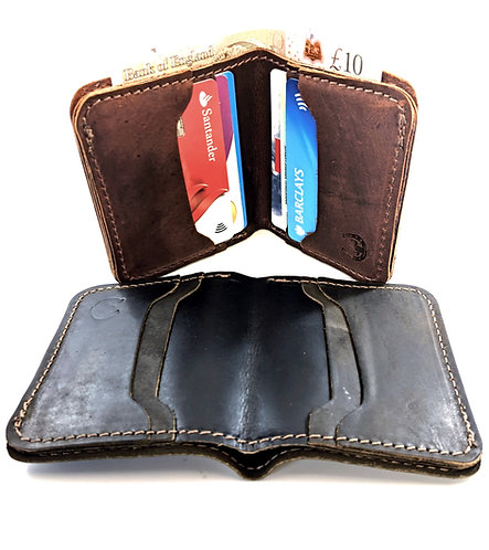 Hunter Leather Small Wallets-Card Holders Handmade