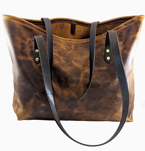 Shopper hunter bag COUNTRY STYLE LADIES leather BAG