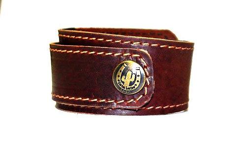Hunter Leather Wristband