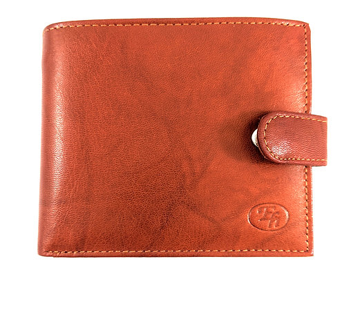 Exquisite Bifold Italian style Leather wallet