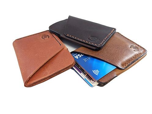 Handmade Genuine super slim design Leather Wallet/ card holder
